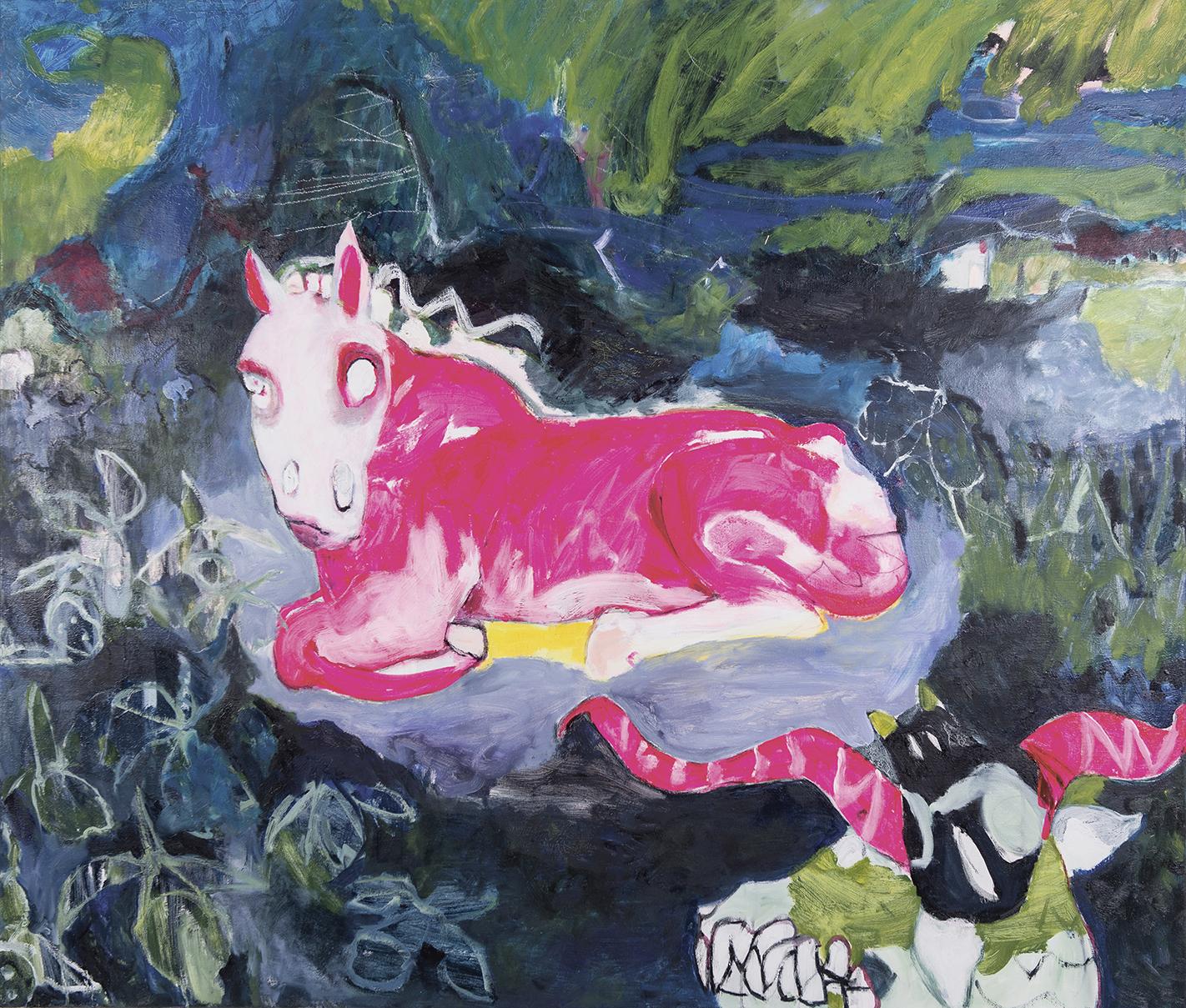 Little Pony oil on canvas 140×130 cm, 2016