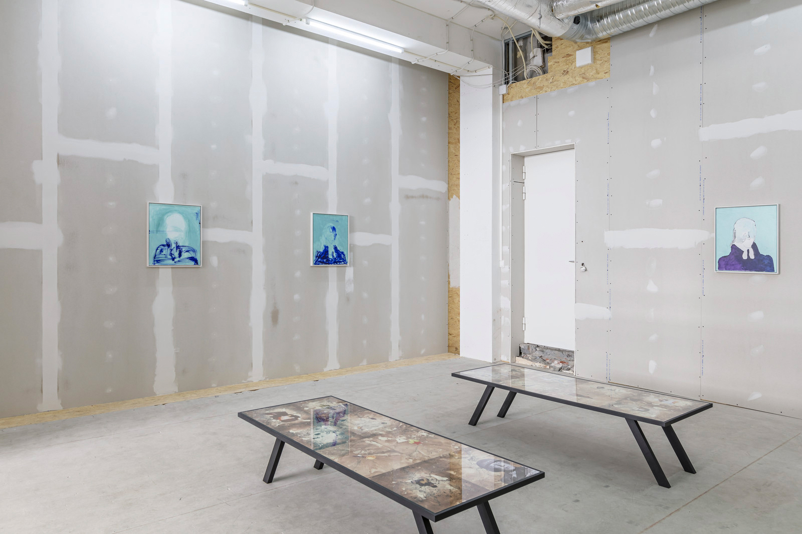 Choice of matter, Ivan Galuzin, installation view