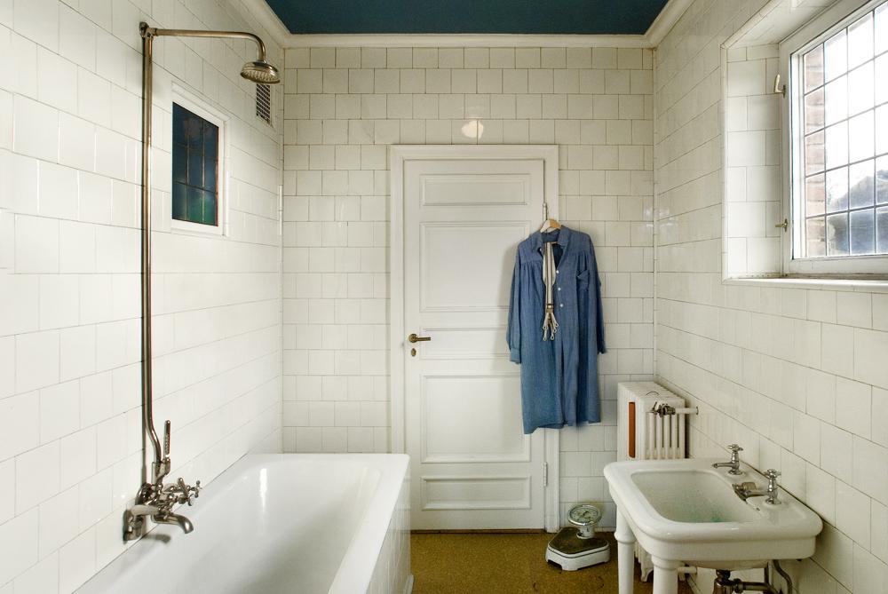 Gustav Vigelands private bathroom. ©Vigeland Museum