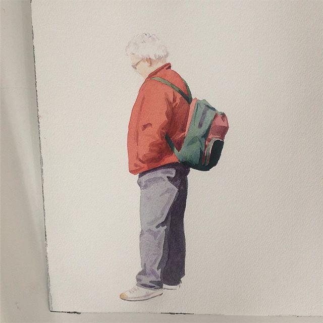 New hang-up. Torbjørn Sørensen #galleriK #studiovisit #thechromarty #contemporaryart #painter
