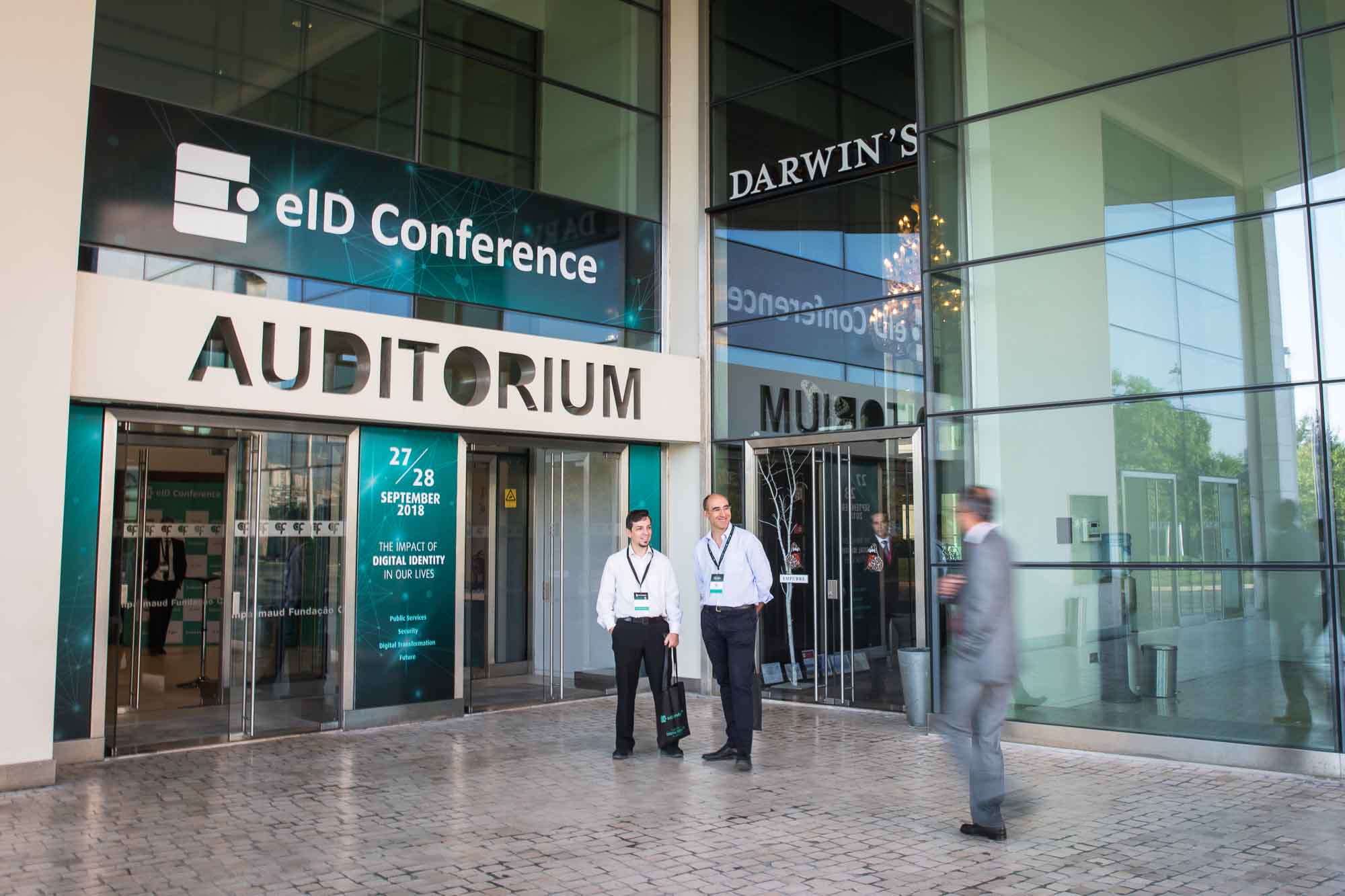 eID Conference Entrance