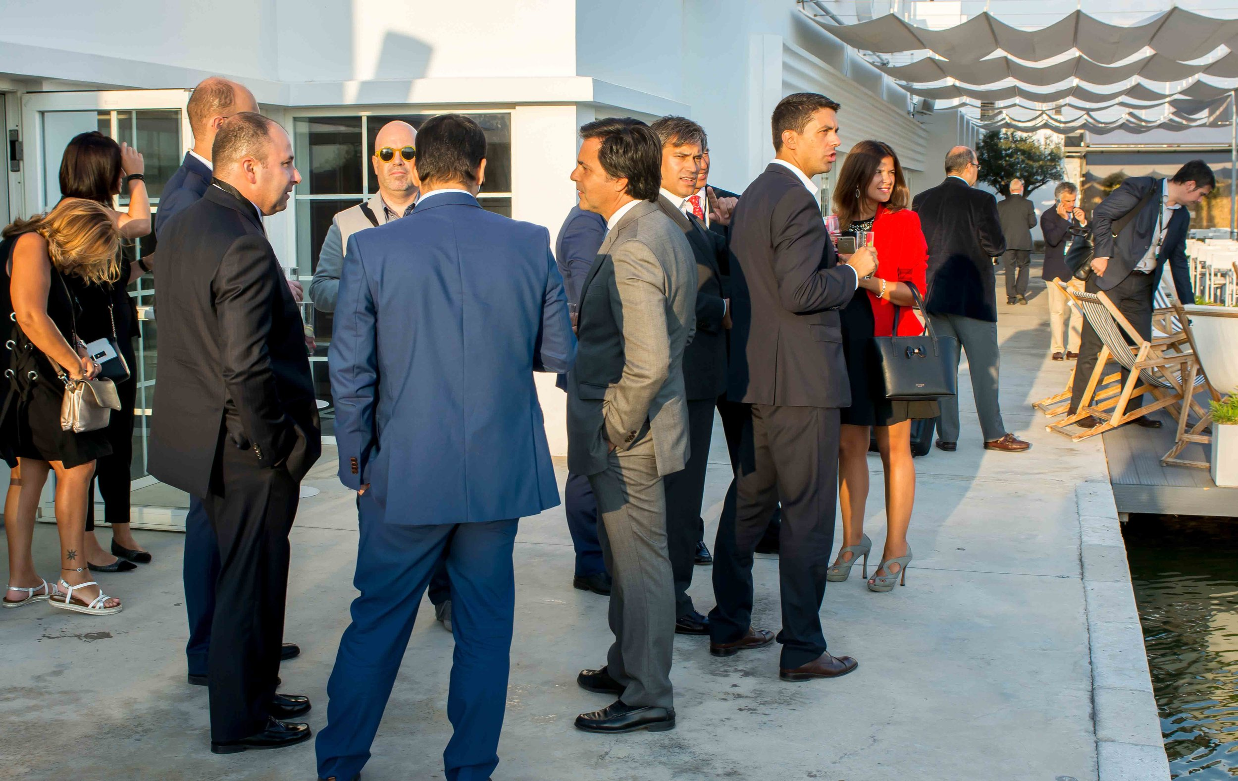 Our guests at Espelho d´Água