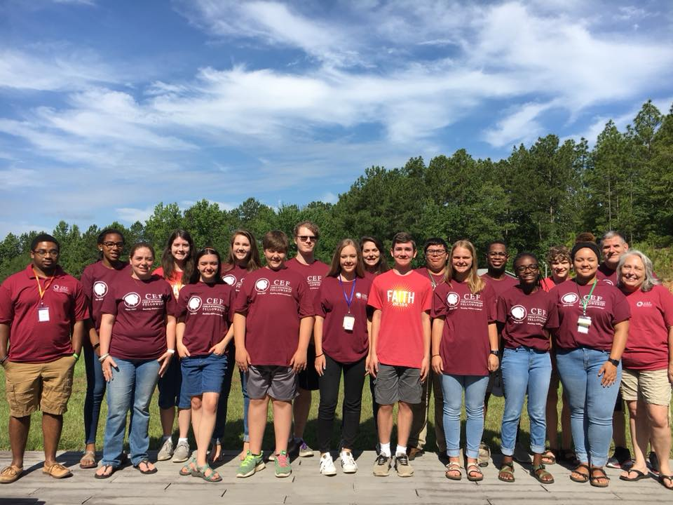 Christian Youth In Action ®  missionaries from Huntsville, Birmingham, and Central Alabama.
