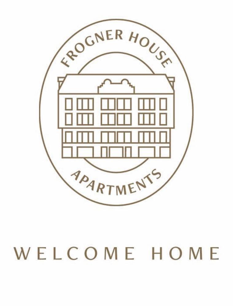Frogner House sin nye logo