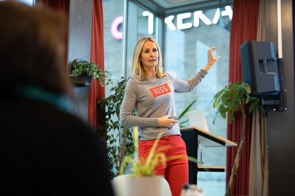 Siri Børsum har et sterkt og lidenskapelig forhold til digitalisering og mulighetene teknologi byr på for næringslivet. FOTO: Heidi Dokter for Kvinner i Business