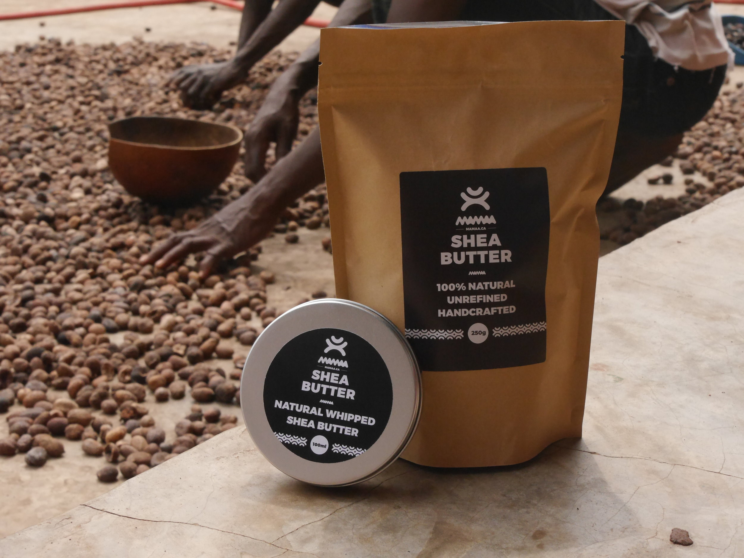 100% Natural - From Ghana