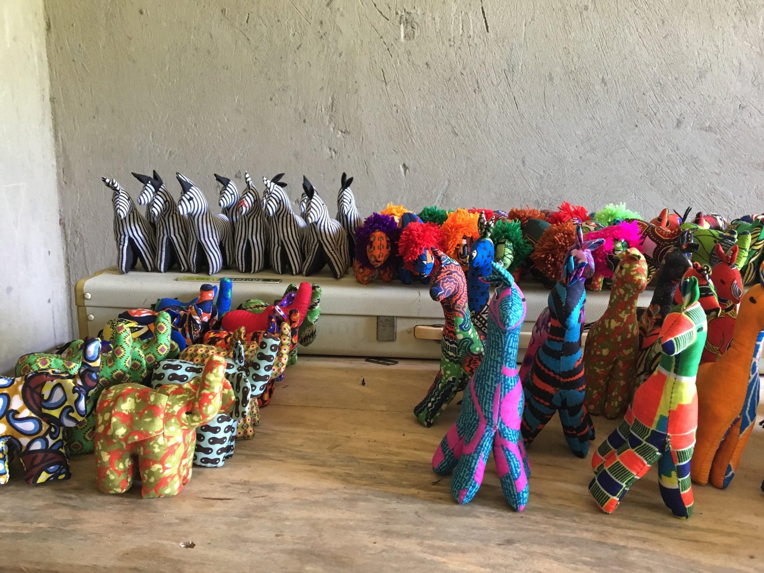 Unique Animal Toys - From Uganda