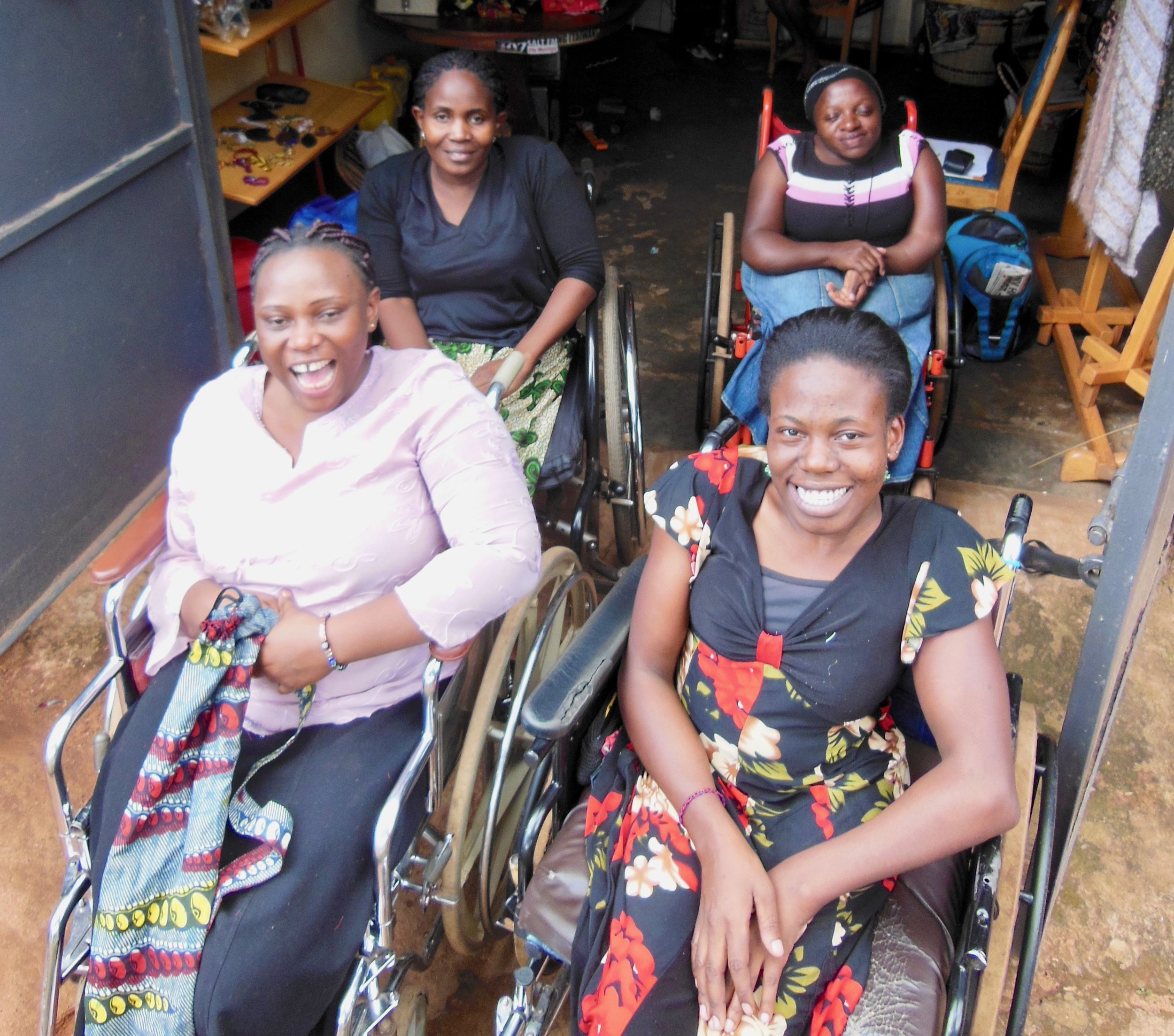 Disabled in Uganda