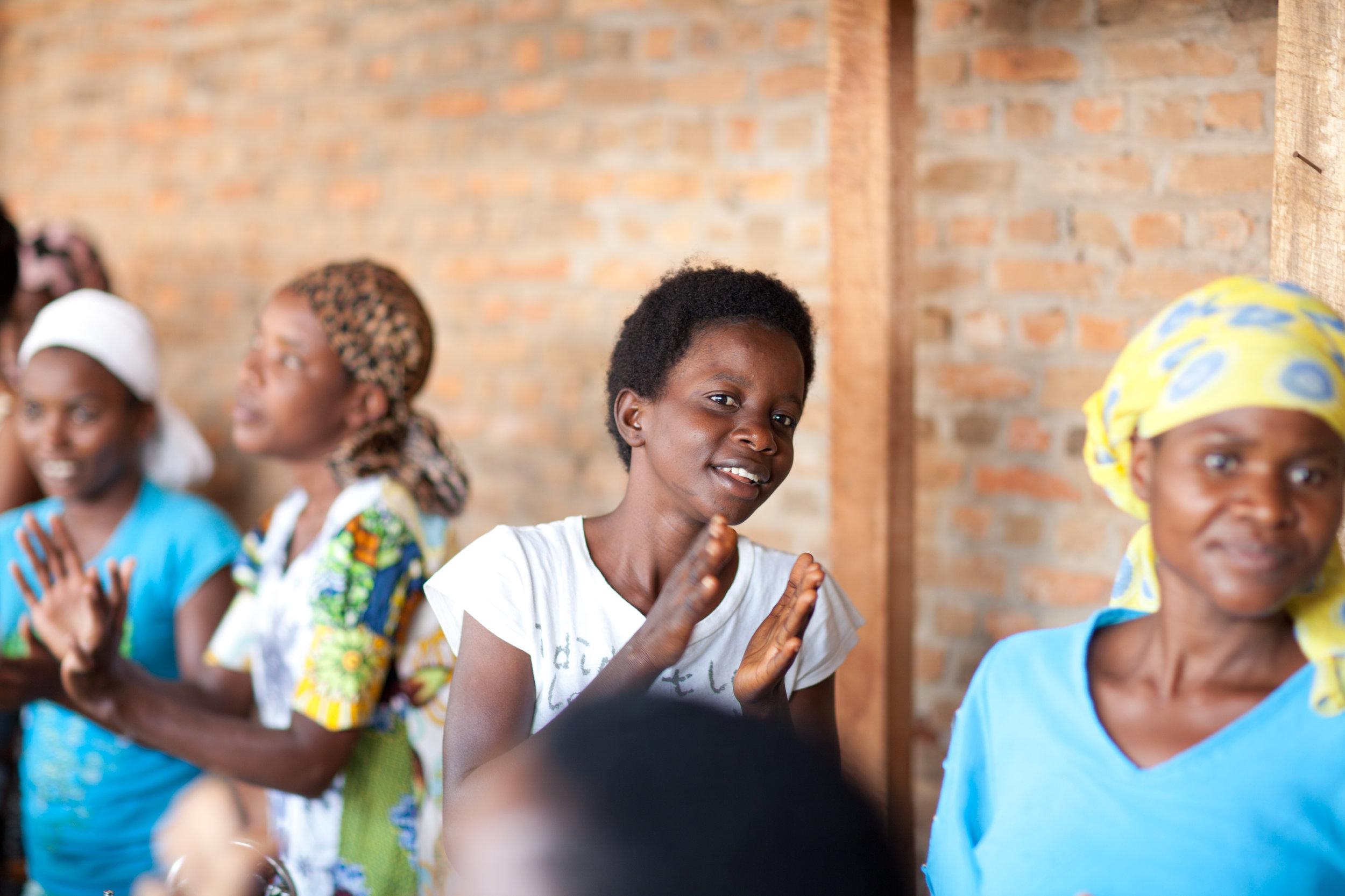 KENYA - Through a three-year skills training and holistic health program, 30 HIV+ widows living in the Kibera Slum of Nairobi receive emotional, physical, spiritual and psychological support.