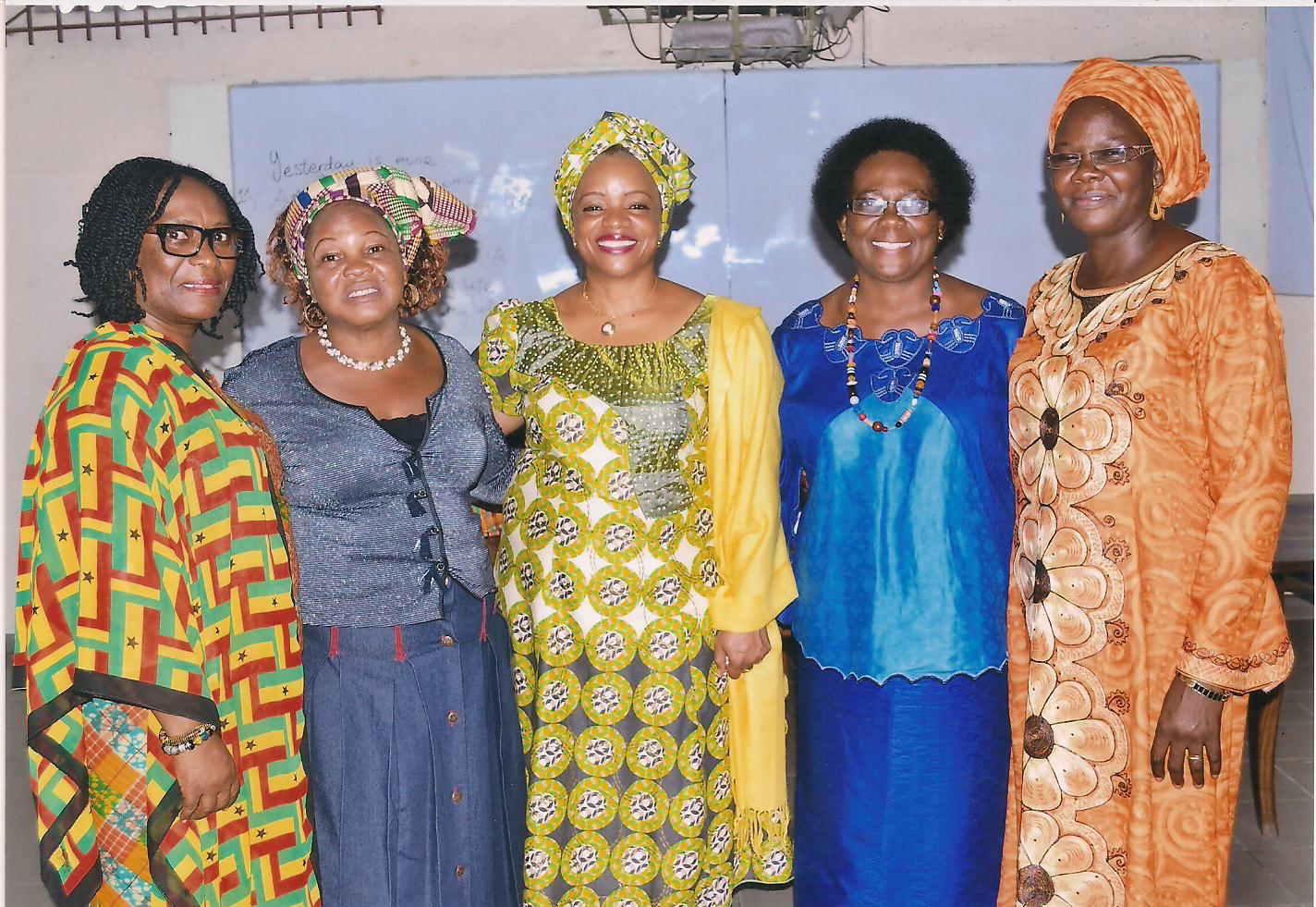 FRANCOPHONE AFRICA - Tirzah's leader in this region, Madeleine Gouentoueu, and her leadership team help to coordinate a consultation every two years for women leaders from 10-15 countries in Francophone Africa. They meet to address the needs of the women in their nations and discuss how they can influence their environments.