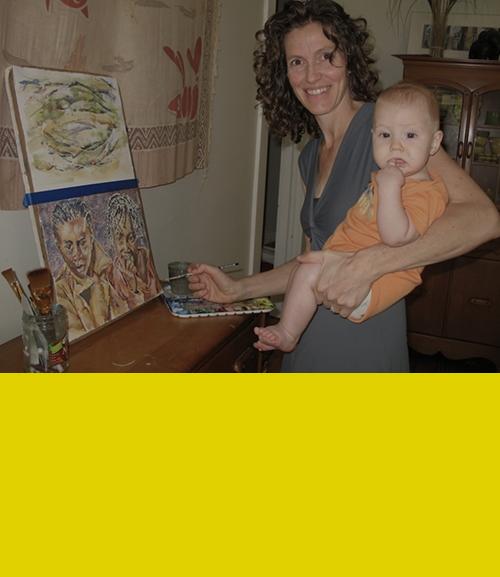 - Create art to help tellthe stories of Tirzah women
