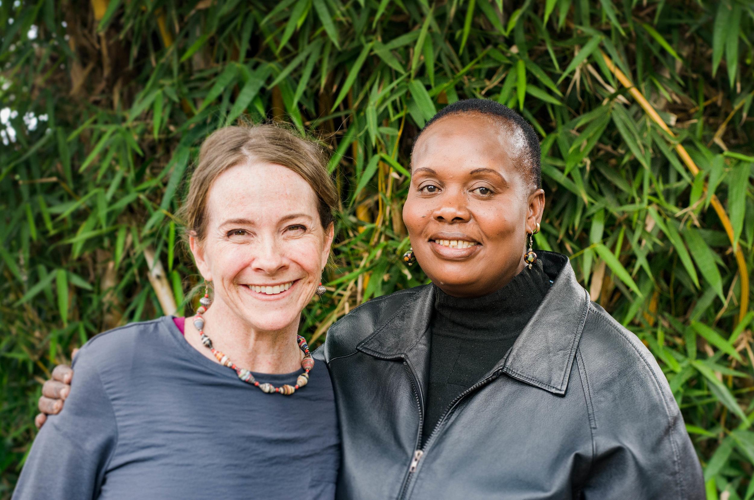 Tirzah International President Cheryl Lovejoy and Kenya Program Assistant Rose.jpg
