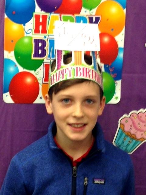 Happy 1/2 Birthday Nate! -