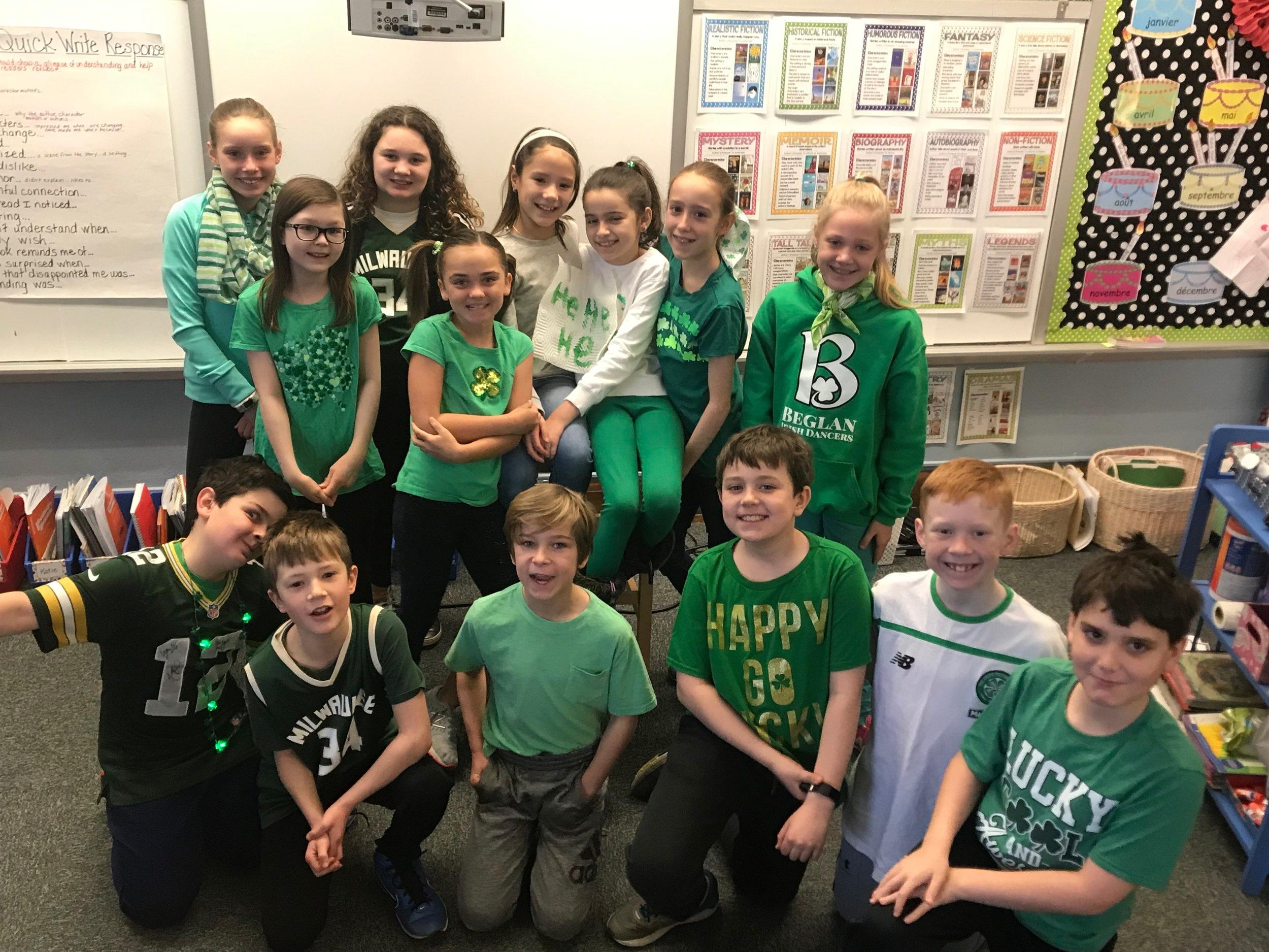 - Happy Saint Patrick's Day!