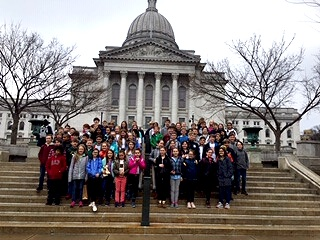 Madison Trip 2019. So proud of this group!