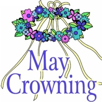 On Tuesday, we will attend the crowning of Mary. Students should wear a light blue or white uniform shirt. In addition, they should bring a flower and a non-perishable food item.