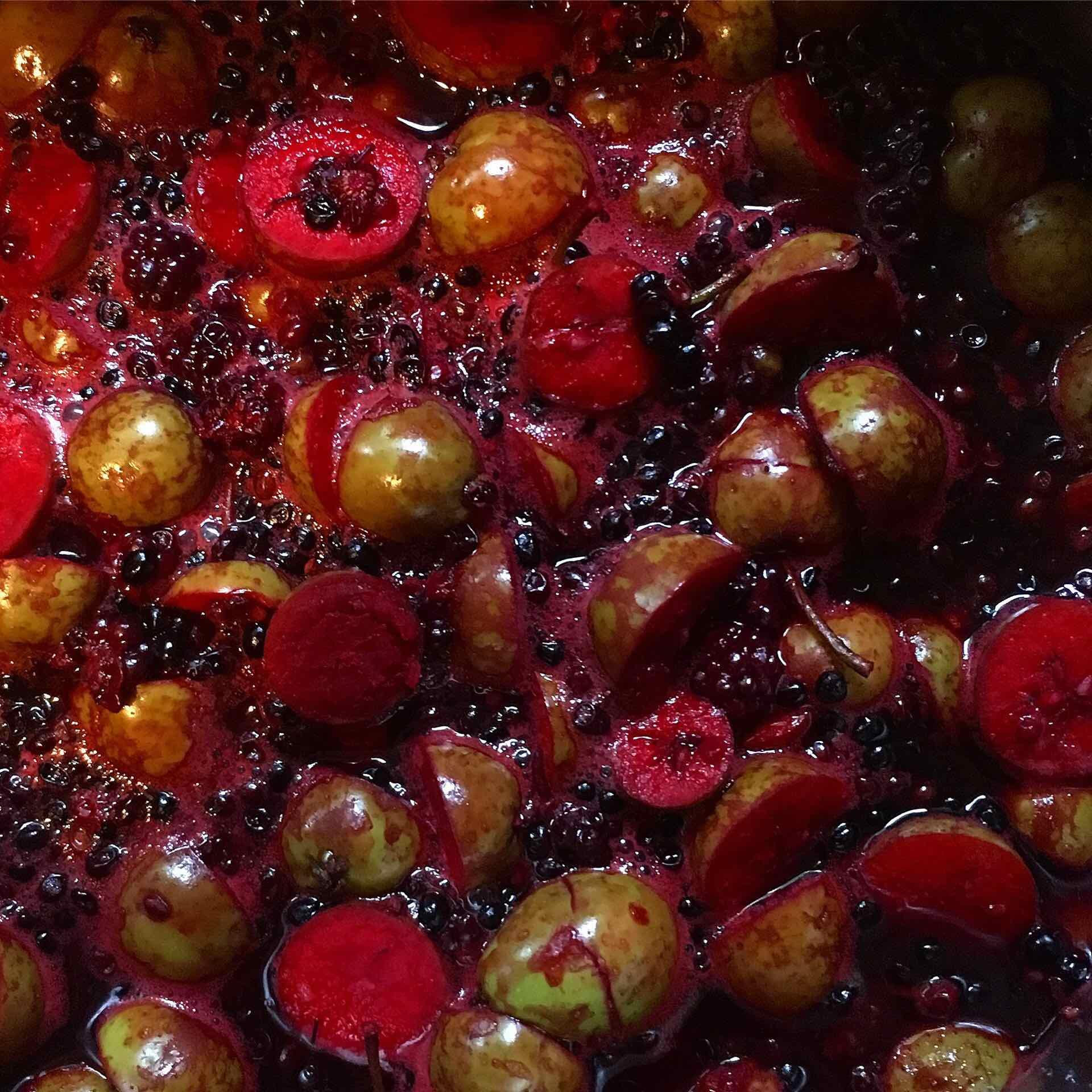 Autumn fruits