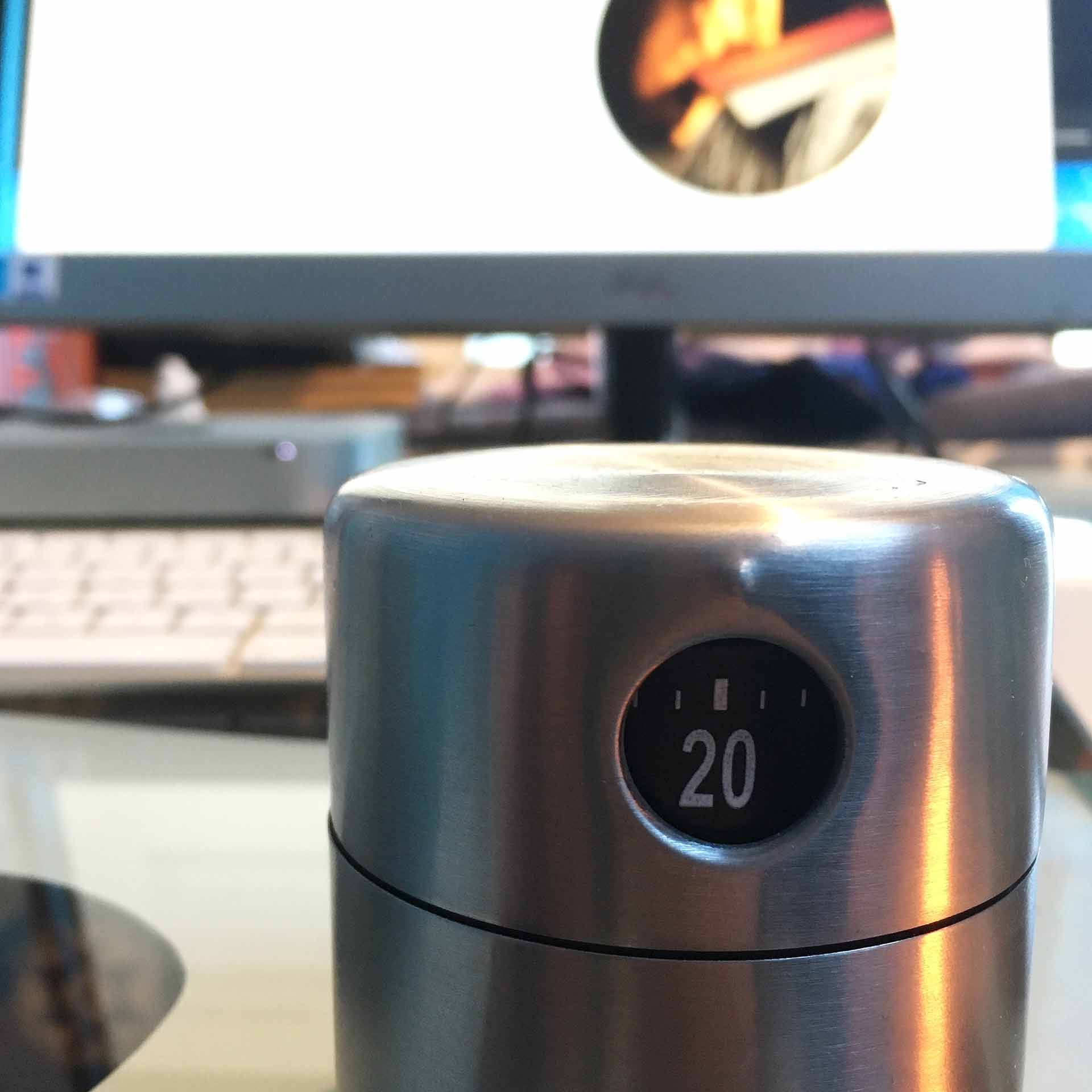 Timer on my desk