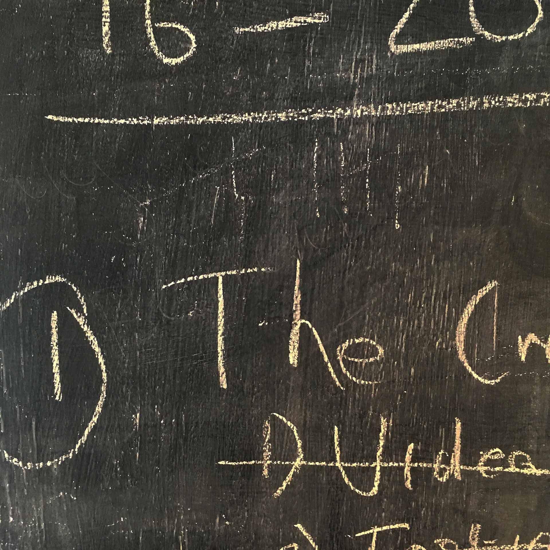 Blackboard planning