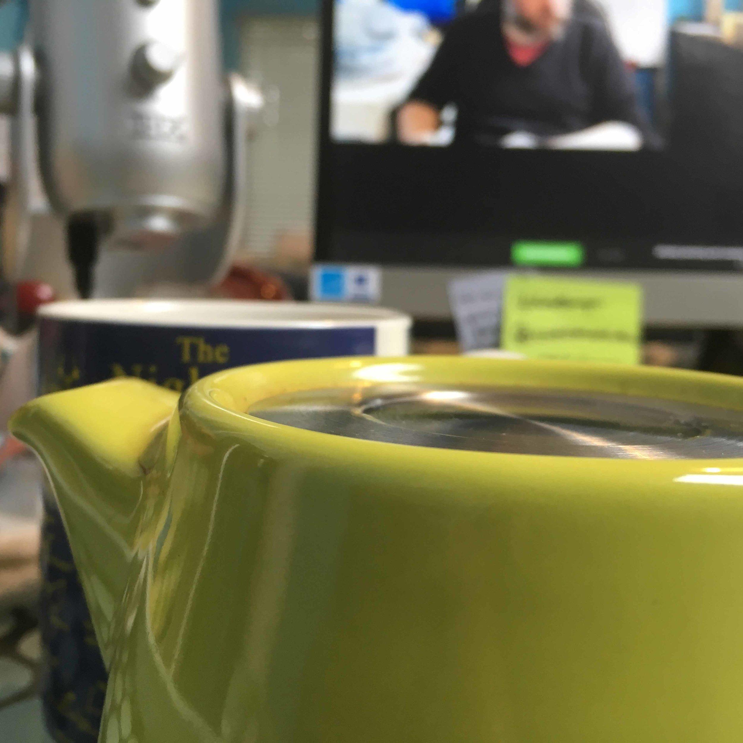 Tea in my studio