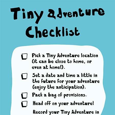 The Tiny Adventure Checklist