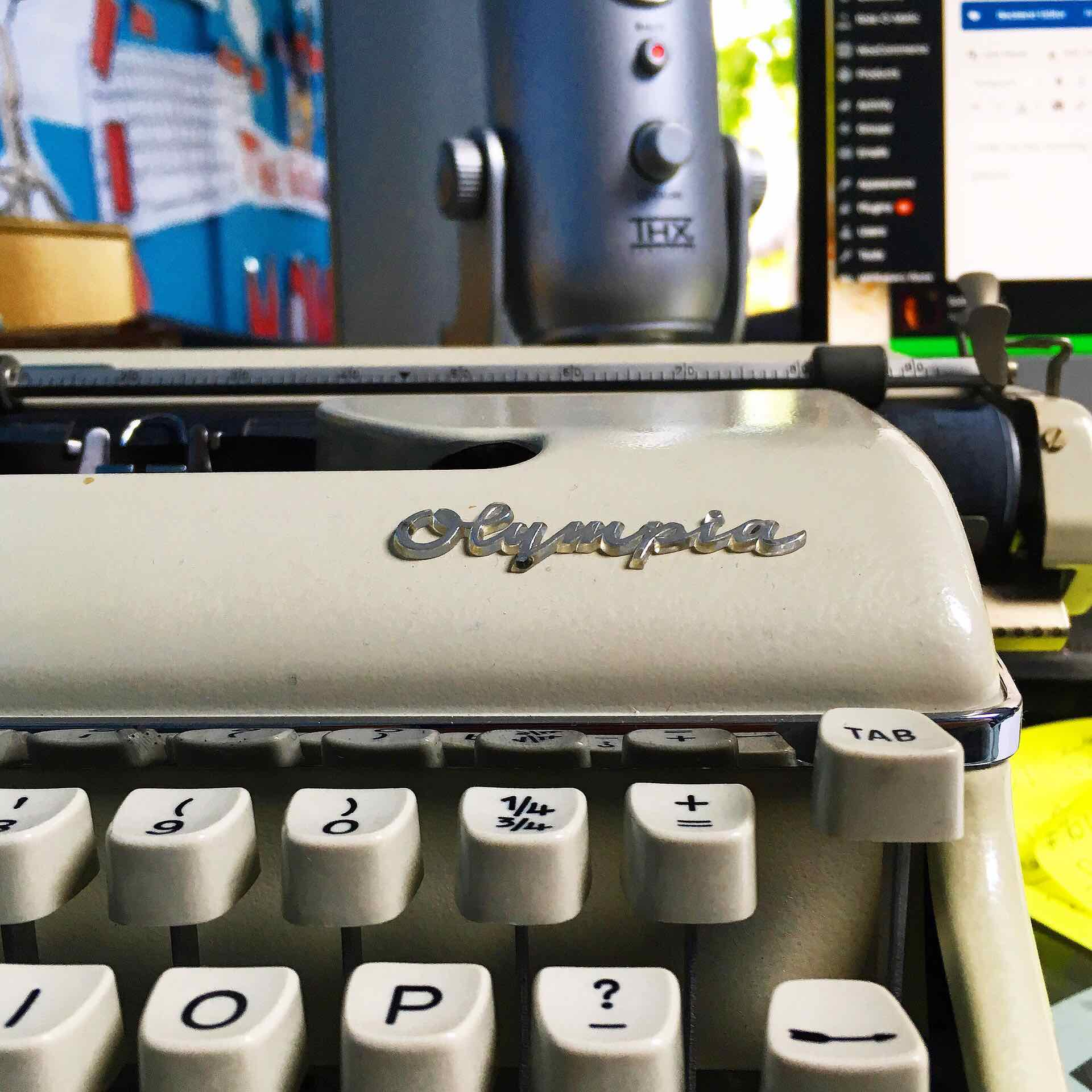 New typewriter