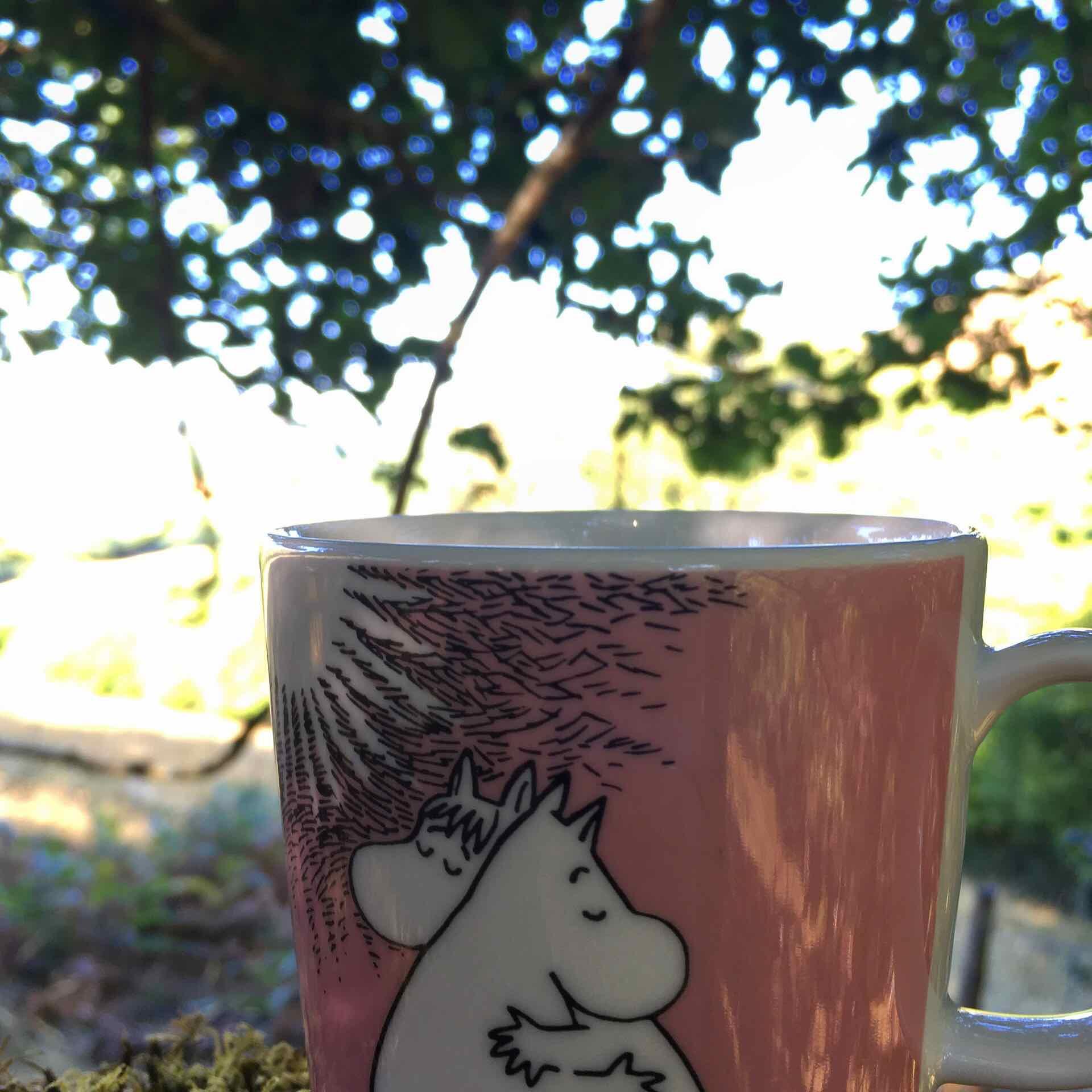Tea at the Horizontal Oaks