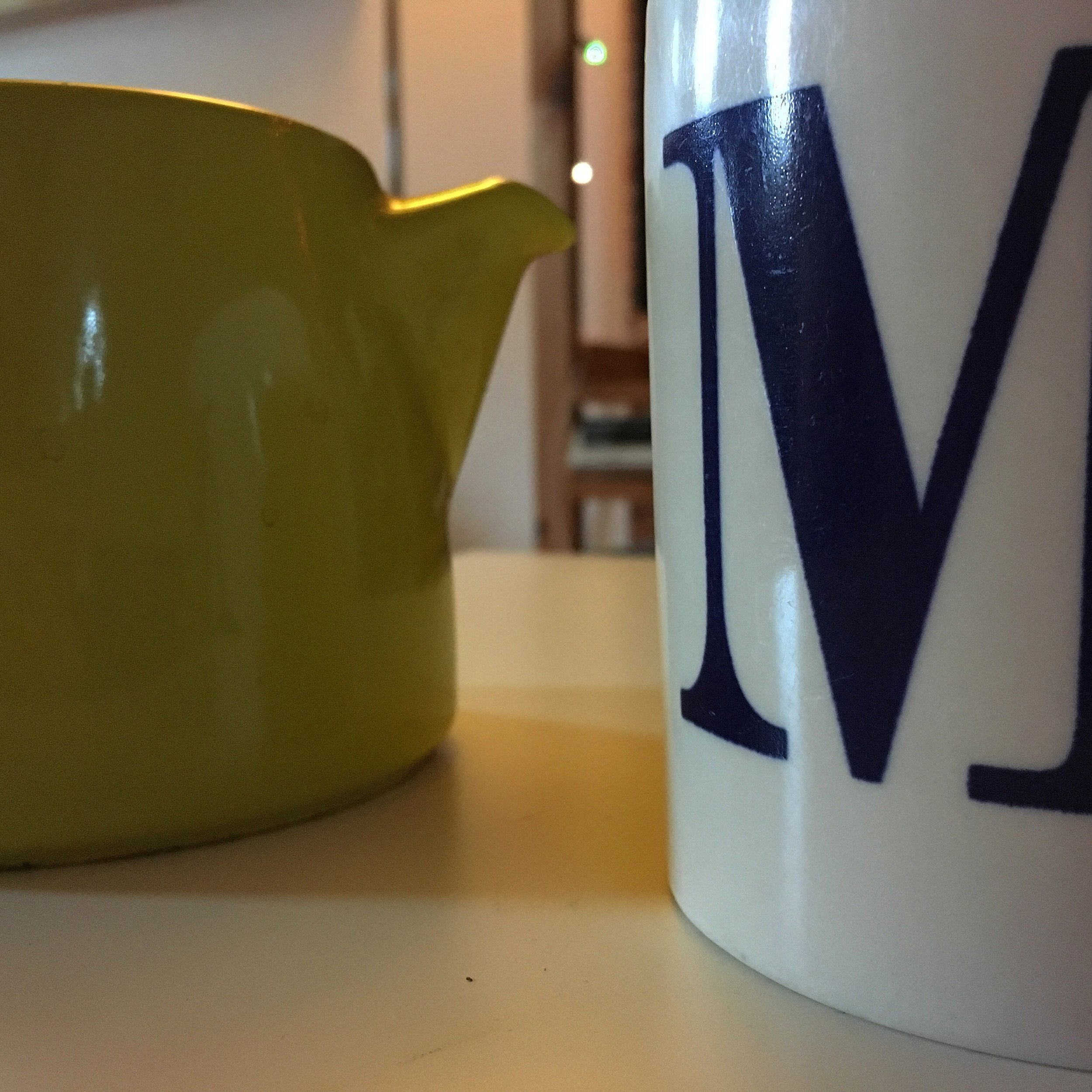 The first cup of tea of the morning