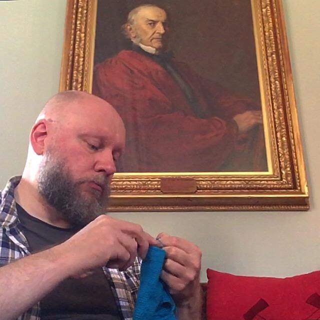 Under the watchful gaze of William Gladstone