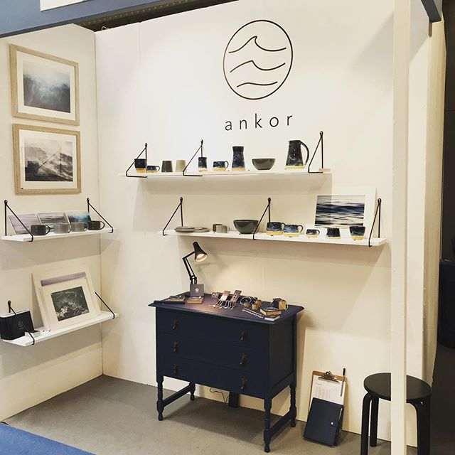 We've ventured out of our studio in Cornwall up to our first ever big trade show. @topdrawerlondon is running at Kensington Olympia over the next few days and we're super excited! If you're looking to stock some lovely ceramics, jewellery or perhaps some seascape photography in your shop, come and see us in the craft section. Stand CR705-D. @ankorcornwall #craft #topdrawer #outoftheordinary