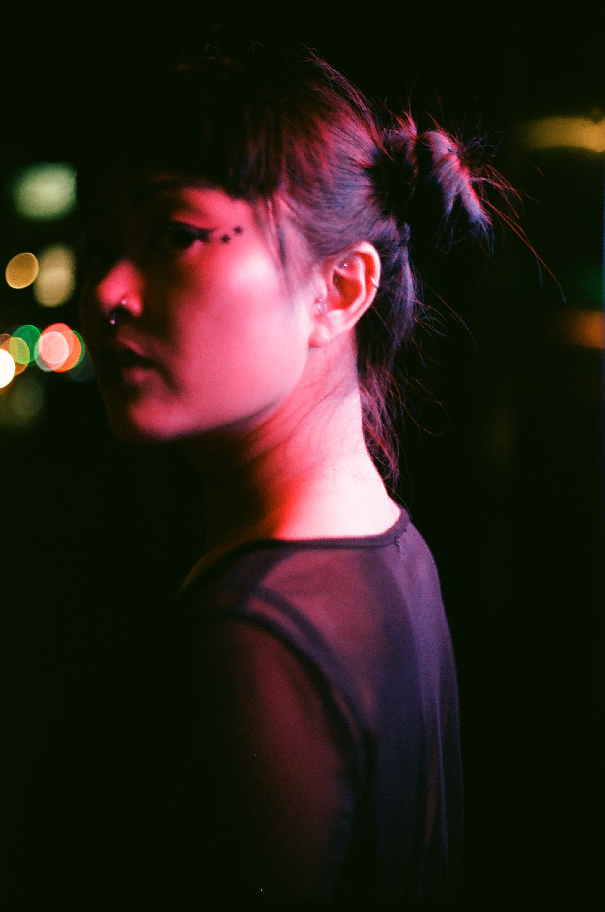 Cecily Lo on 35mm film