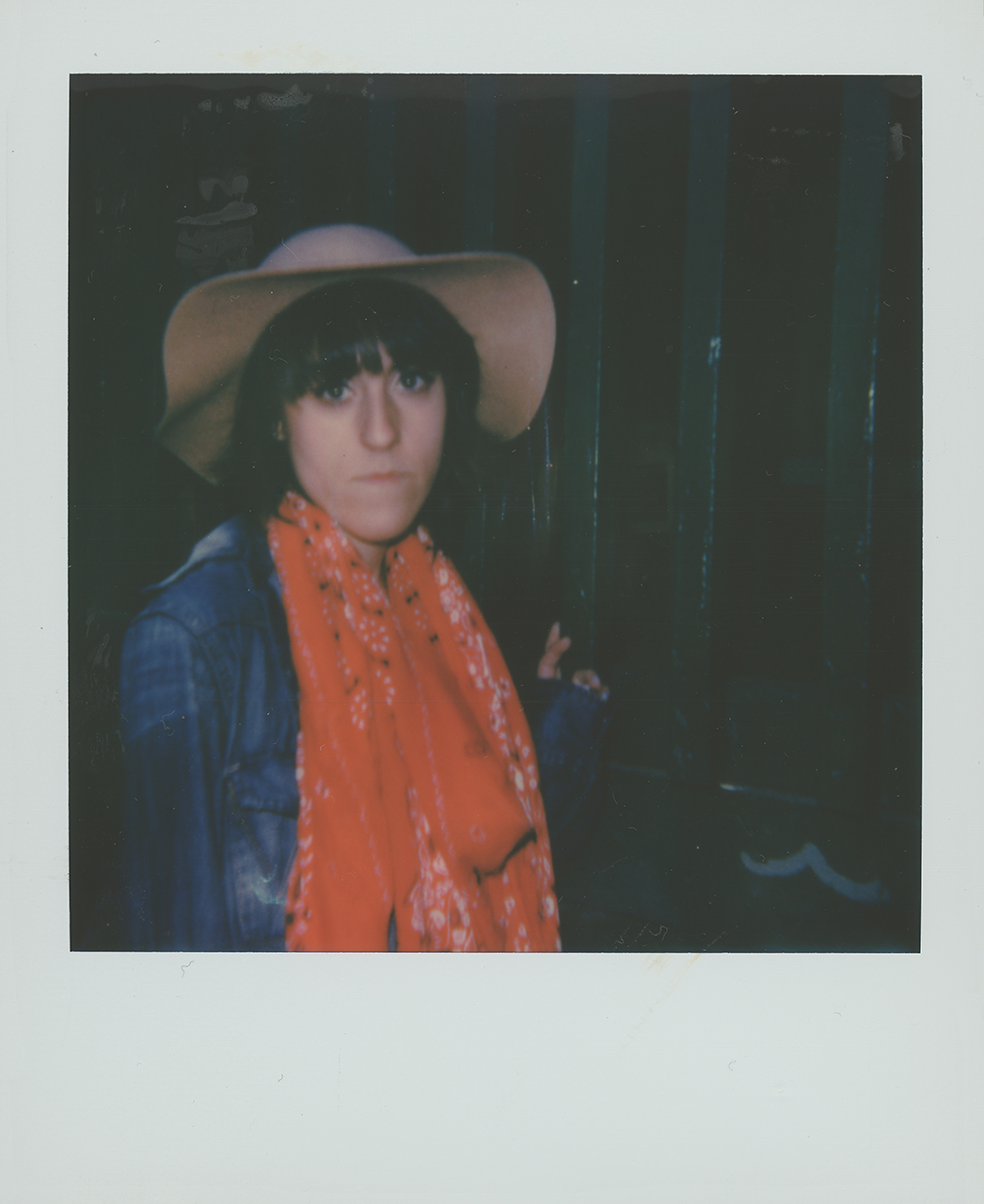 Nicasia on Polaroid 600 film
