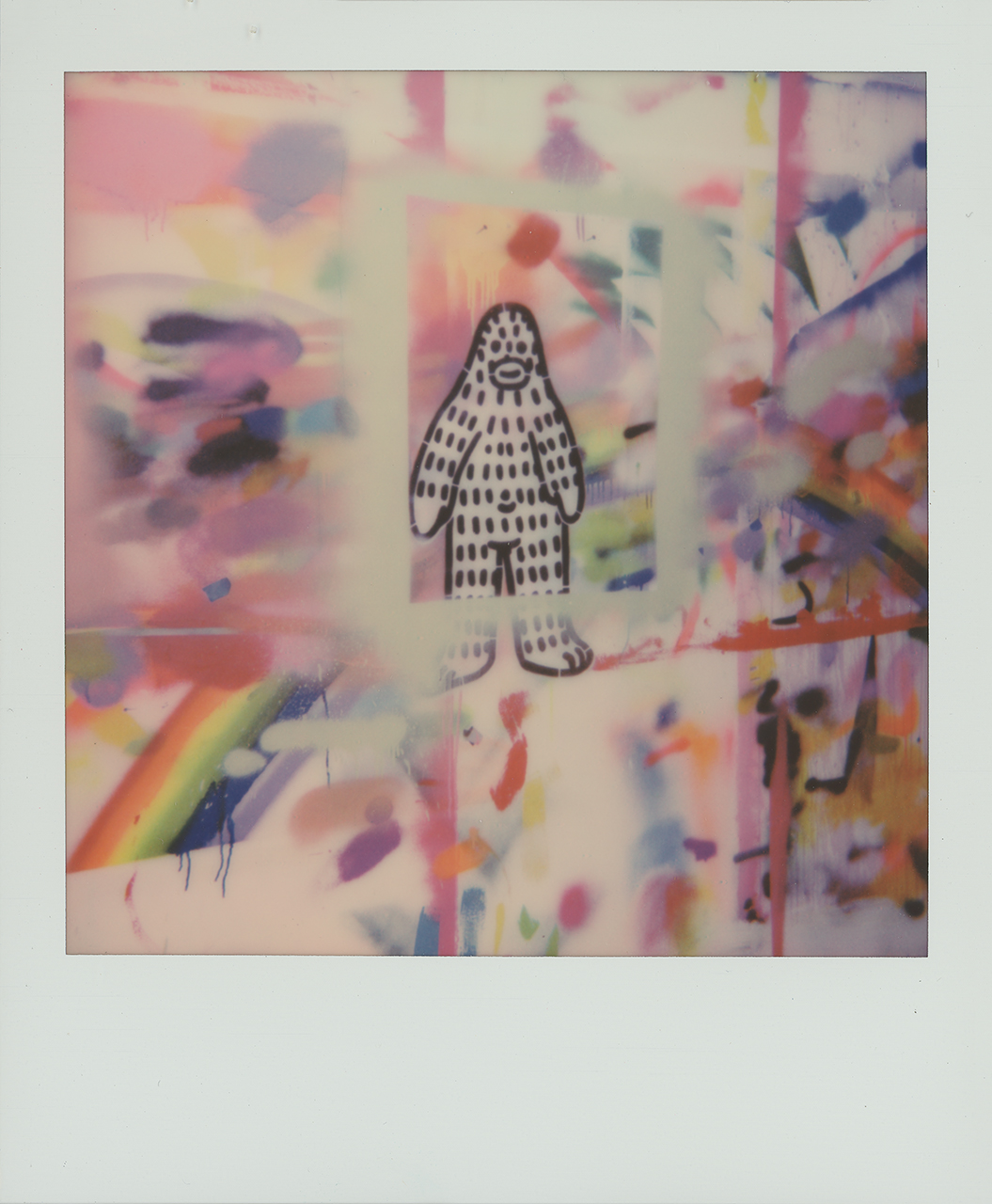 Frank Ape on Polaroid 600 film