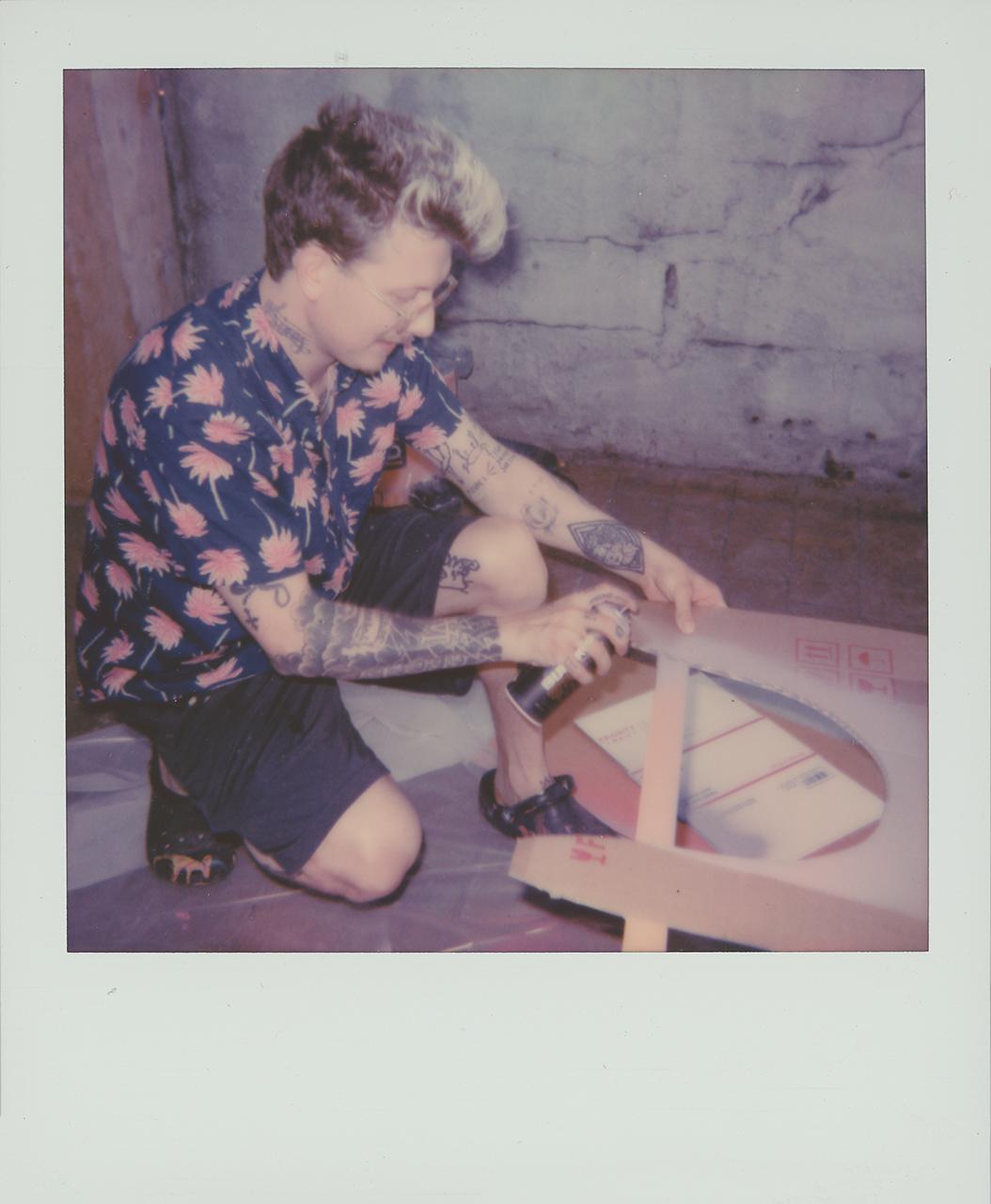 Brandon Sines on Polaroid 600 film
