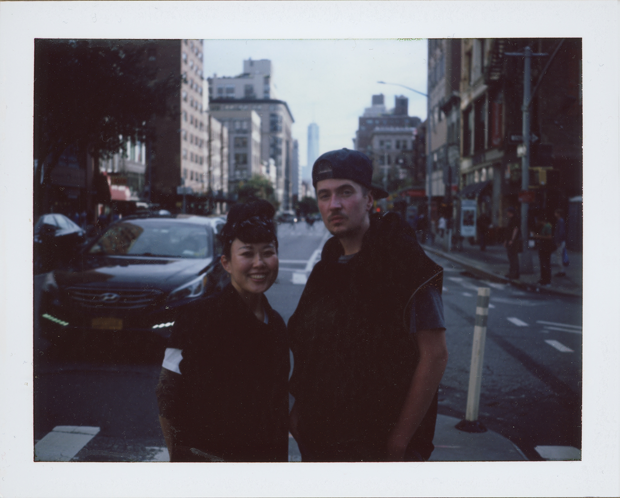 Yoko and Jayson on FP-100c