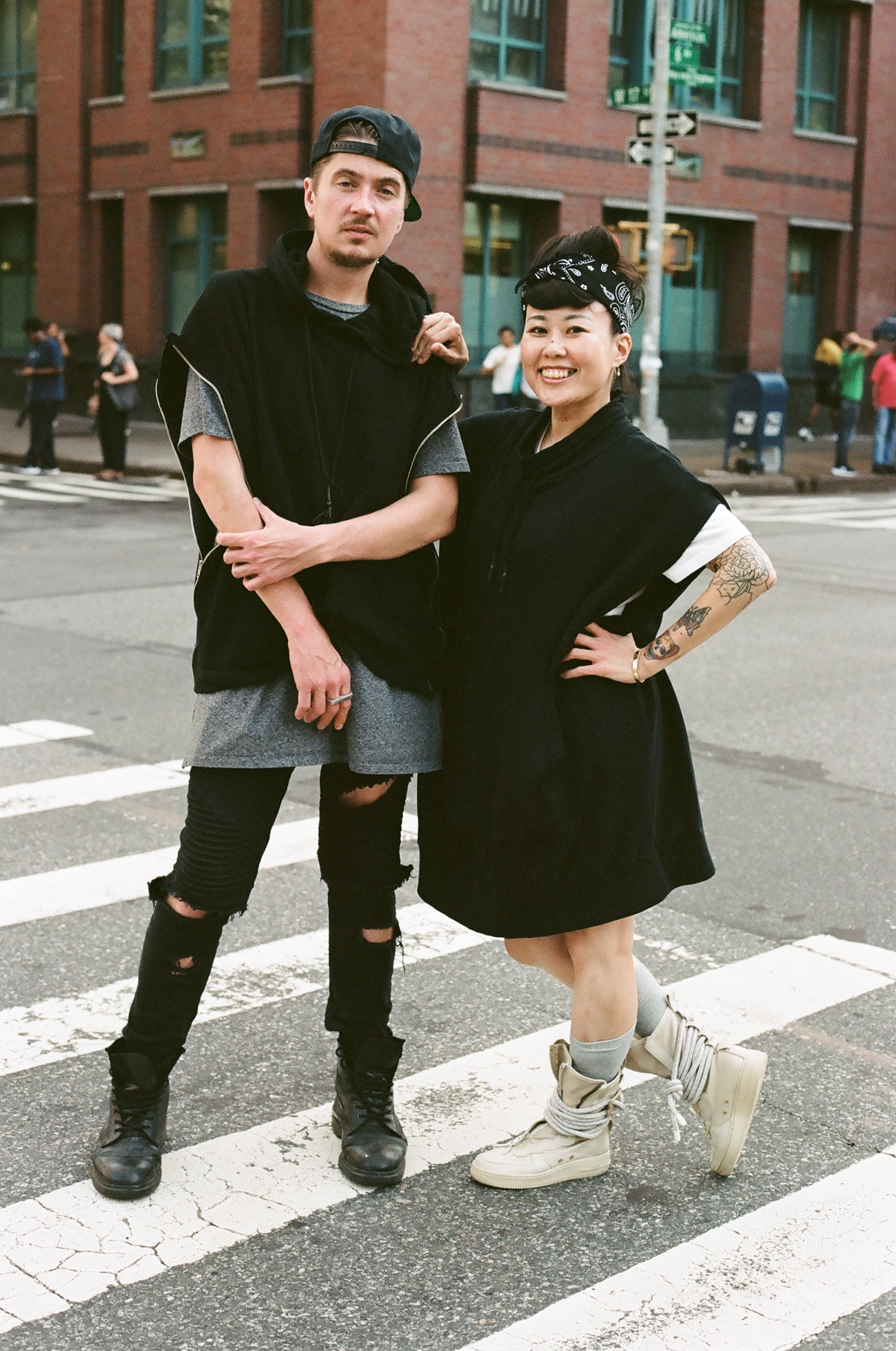 Jayson and Yoko on 35mm film
