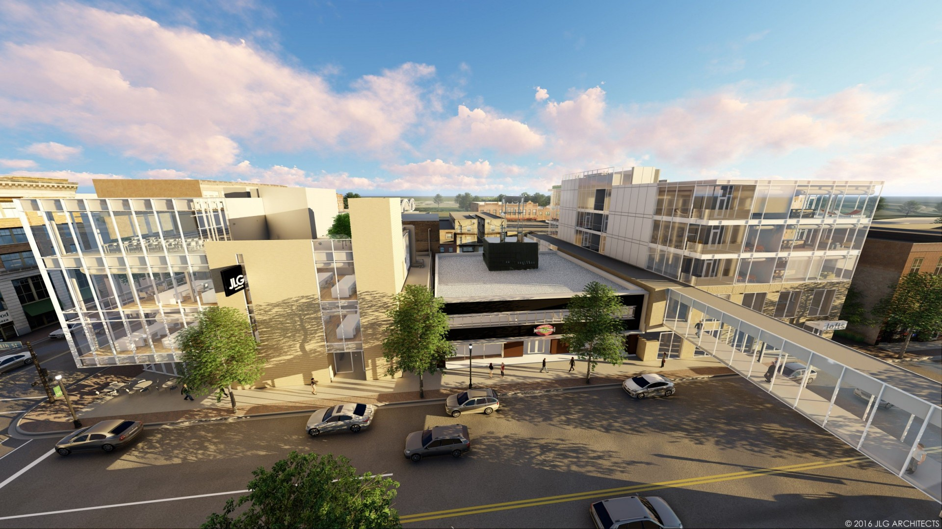 JLG Architects rendering of 4th St