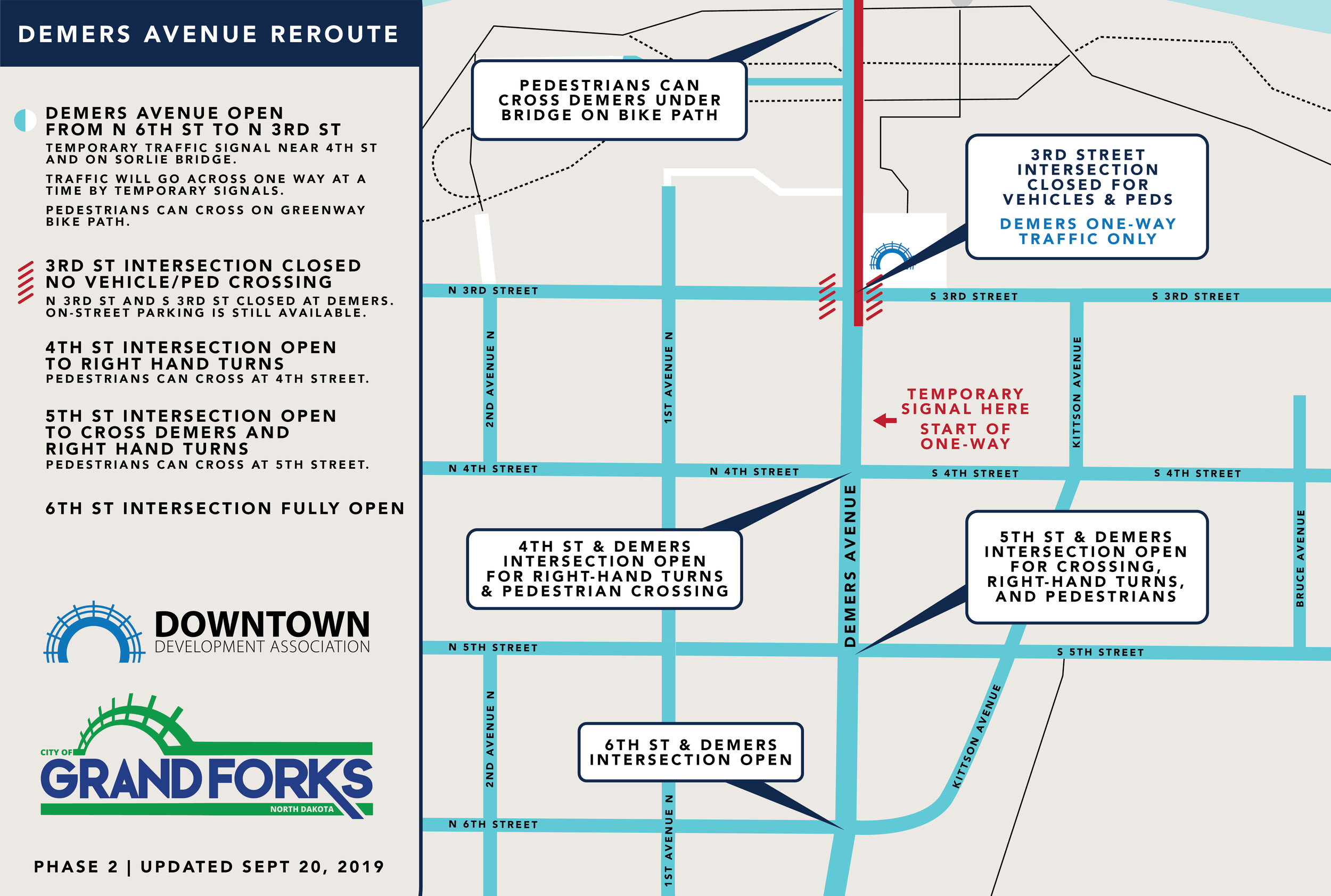 DOWNTOWN REROUTE PHASE 2