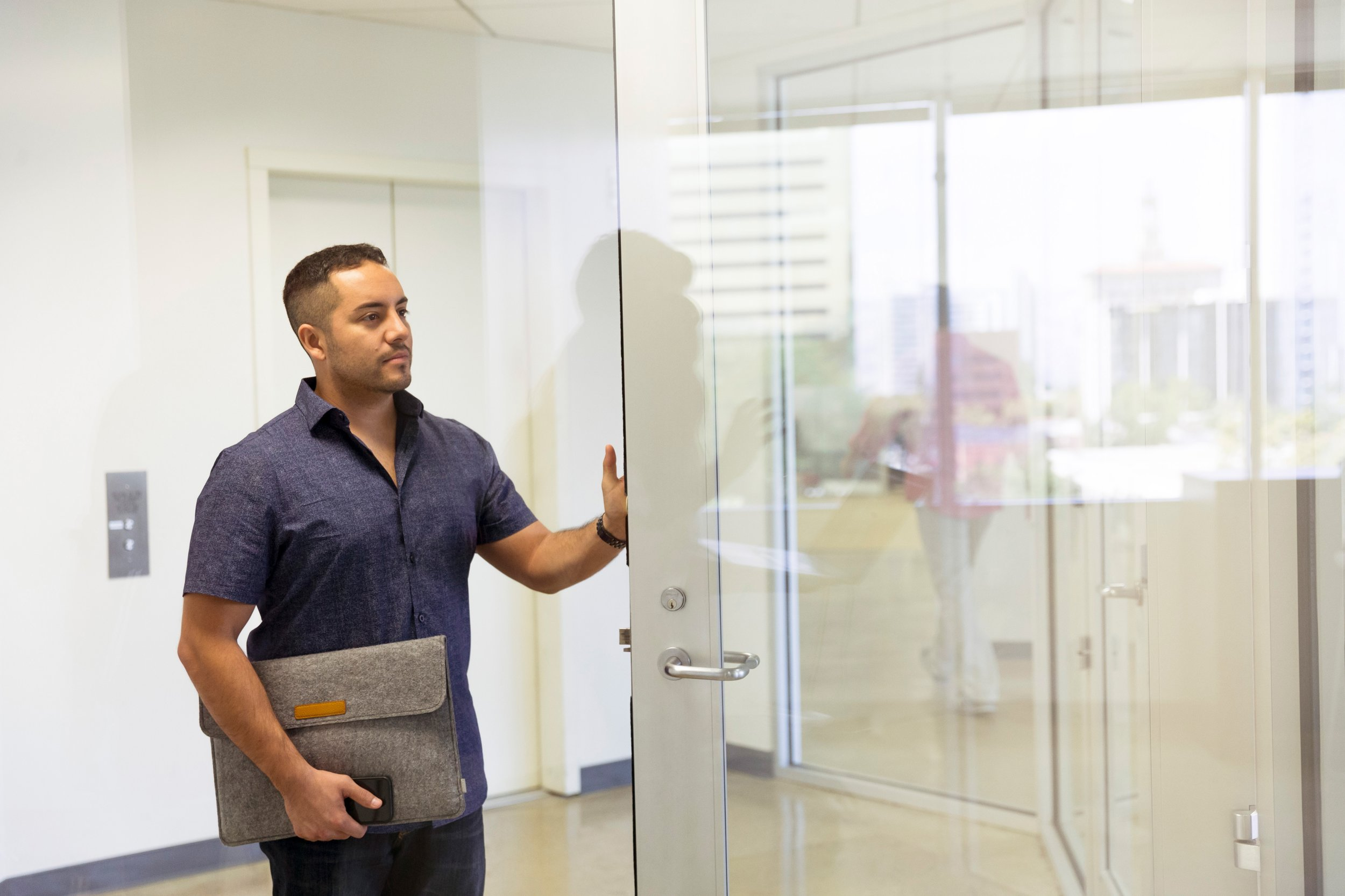 We can schedule an in-office visit consultation to inspect the property before scheduling the job so we can give your business the most accurate quote upfront.