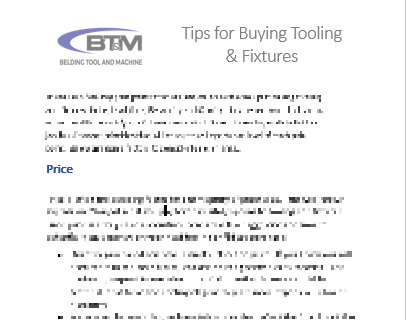 Download our whitepaper for tips on buying tooling & fixtures -