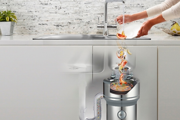 Say goodbye to overflowing bins with a food waste disposer - InSinkErator food waste disposers are a 'must have' appliance that hygienically and safely disposes of food waste at the touch of a button.