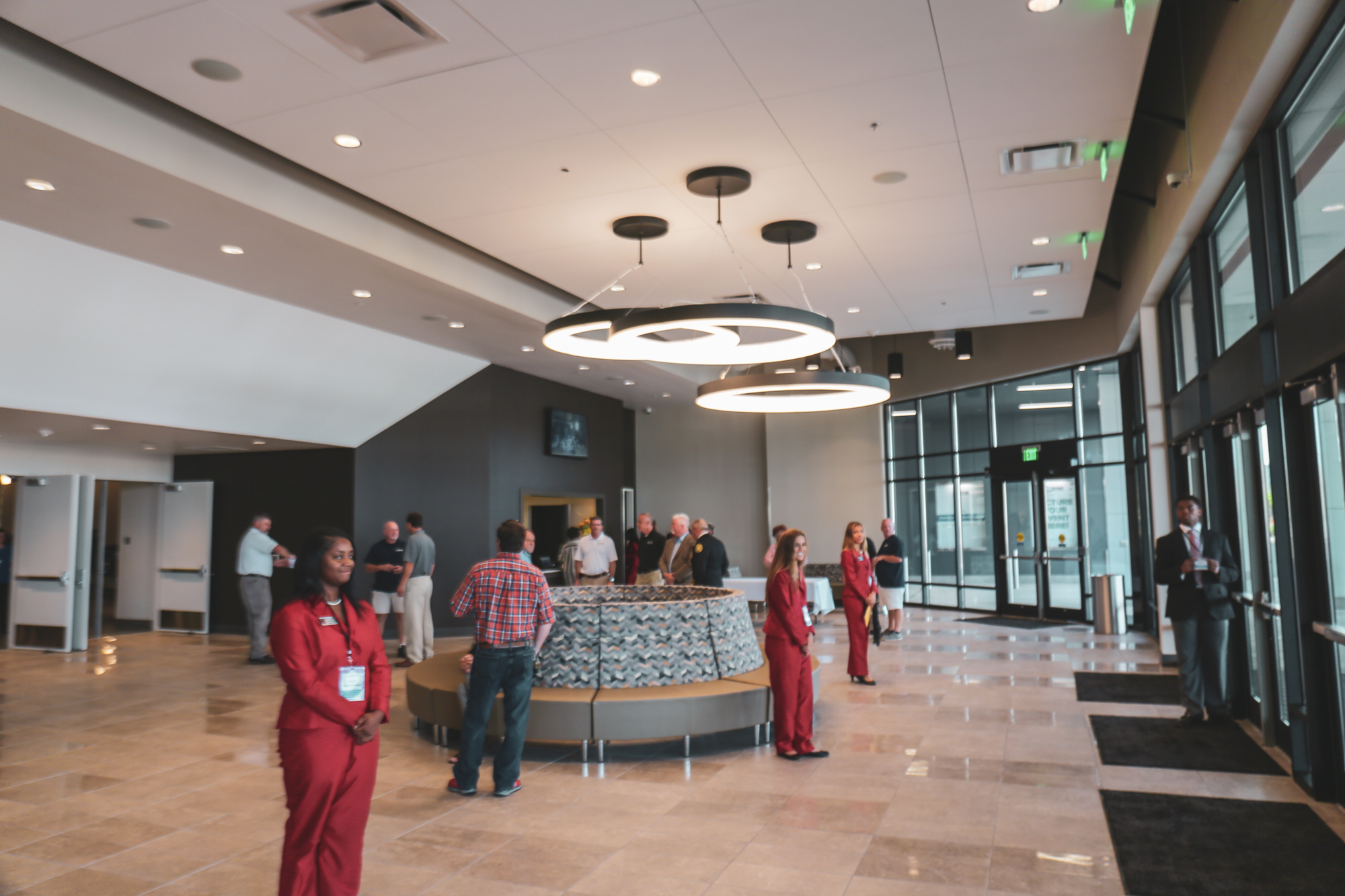 Lobby of Venue during open house reception