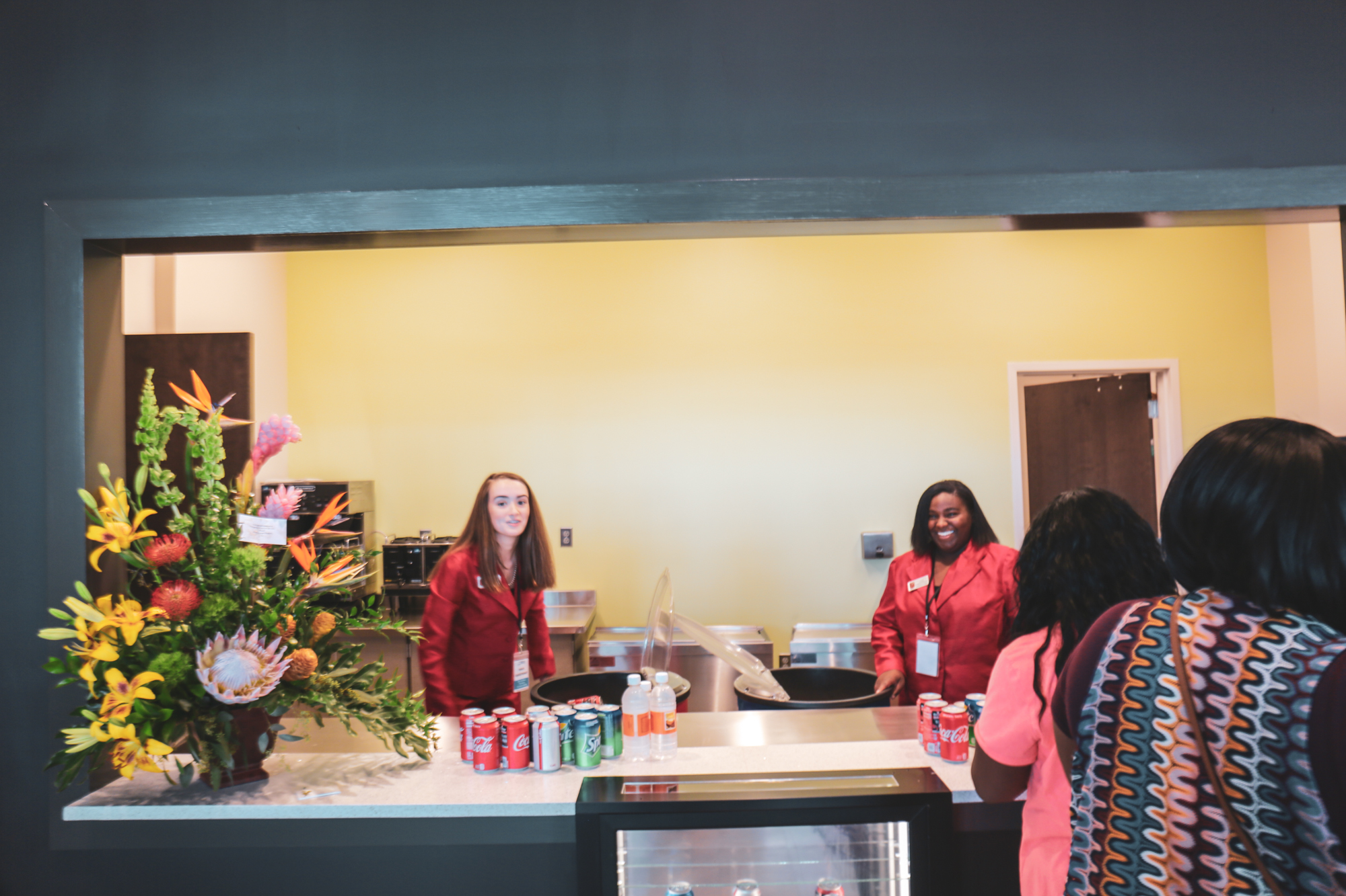 concession stand during open house