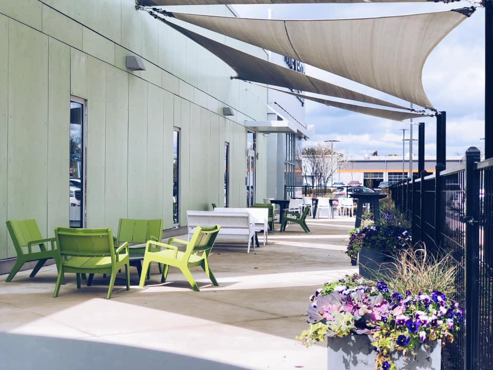 Patio - - Connects to Meeting Rooms- Outdoor Seating- Shade & Landscaping
