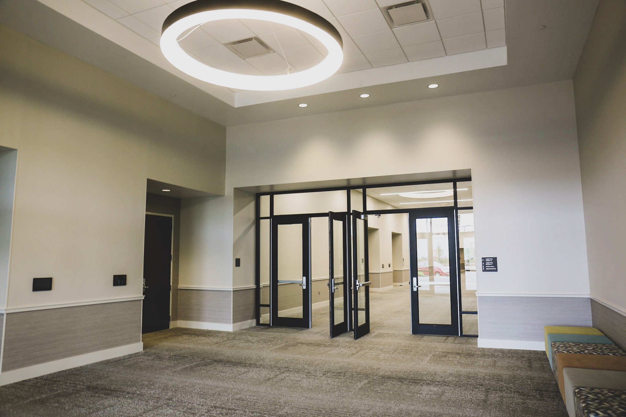 Vanue main hallway