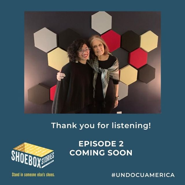We are so grateful for the support on the first episode. Who is ready for episode 2 featuring Gloria Steinem?