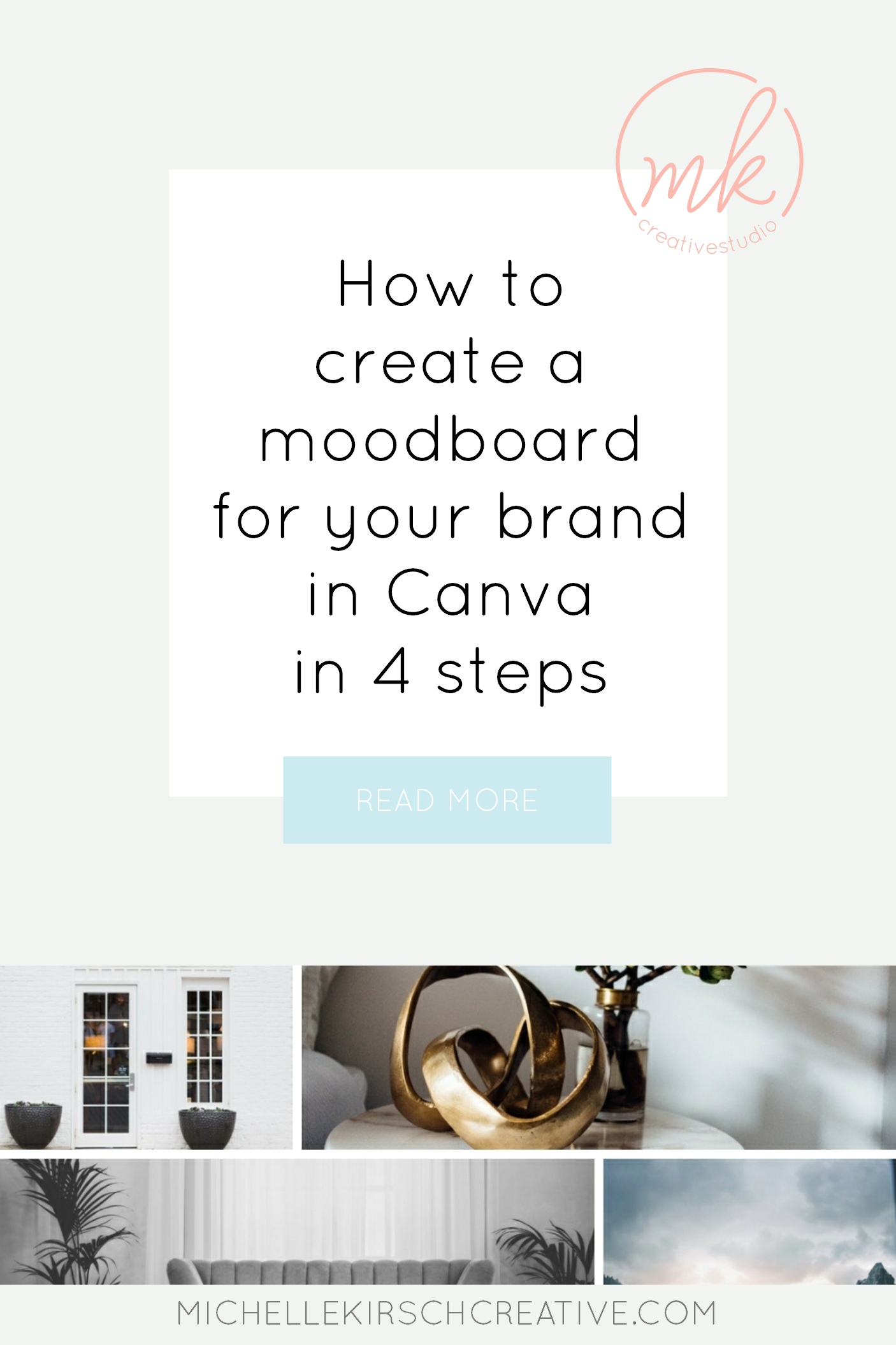 How to create a moodboard for your brand in Canva in 4 steps