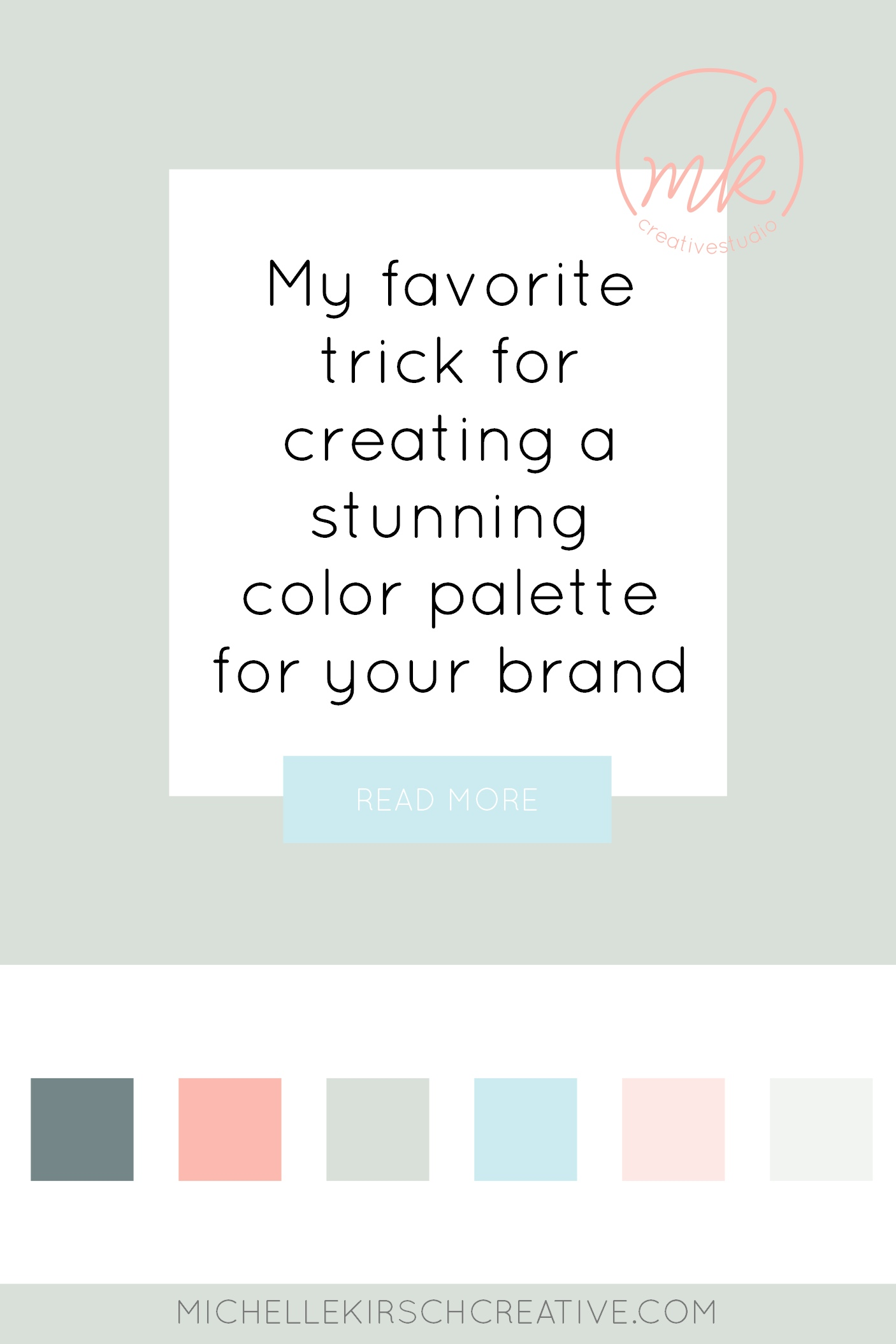 My favorite trick for creating a stunning color palette for your brand