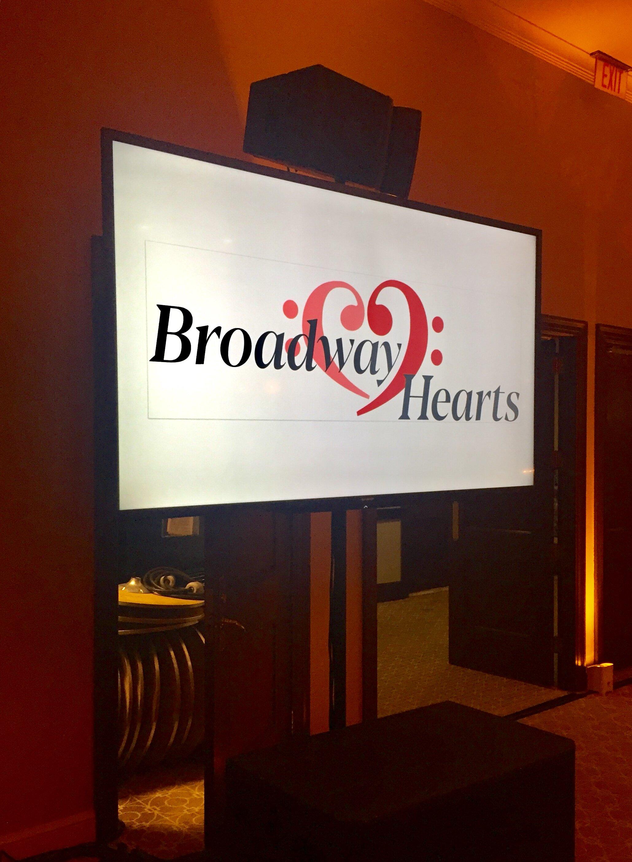 Broadway Hearts/ PCF Gala