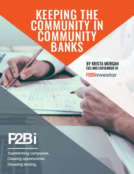 Keeping The Community In Community Banks -